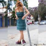 Платья от Ванесса Монторо.