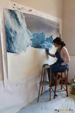 Вы думаете, что это вода? Зариа Форман - особенная художница.