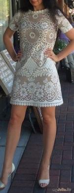 Кружевные платьея крючком ( поборка)