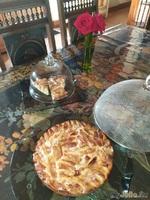Вкусный, простой яблочный пирог.