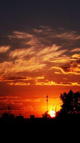 Вечерне -Осенний Закат НашГорода 2020 года