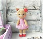 Кошечка Цветик.