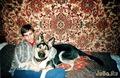 С сыном, 2001г